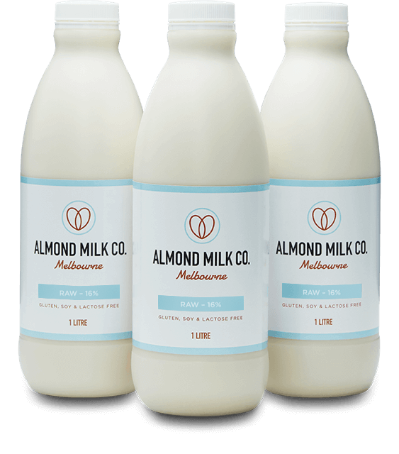 Almond Milk Co. Bottles